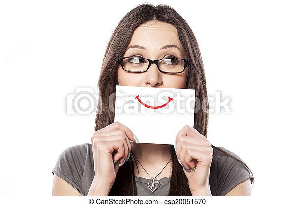 sorrizo, papel - csp20051570