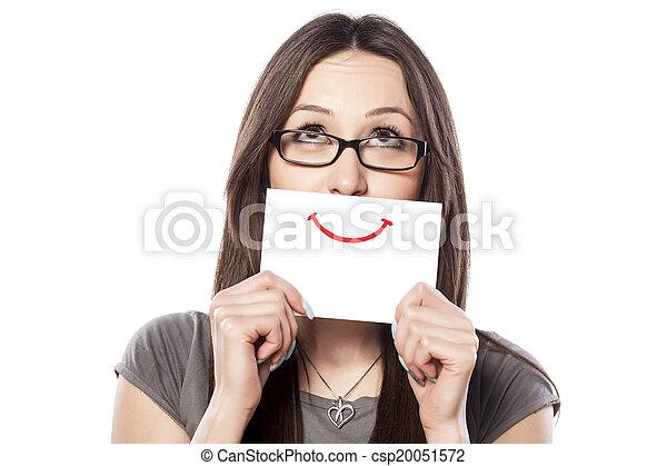 sorrizo, papel - csp20051572