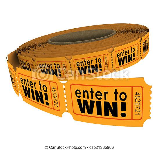 Entra para ganar el sorteo para recaudar fondos de caridad suerte - csp21385986