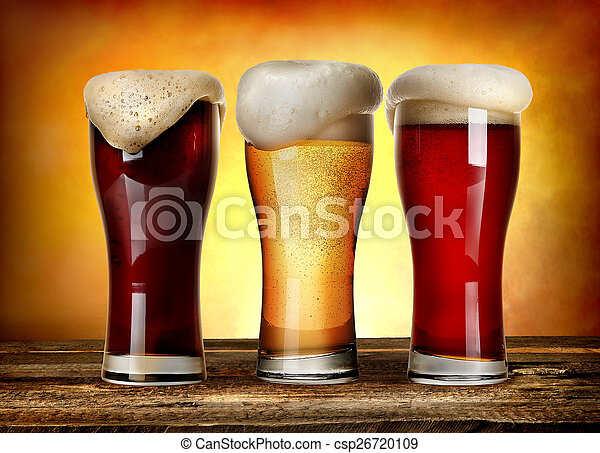 Sorts of beer - csp26720109