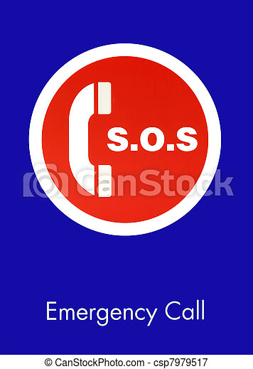 S.O.S. Emergency Call Sign - csp7979517