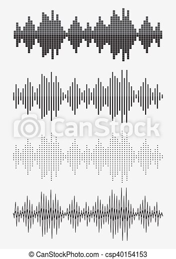 Sound equalizer graphic set - csp40154153