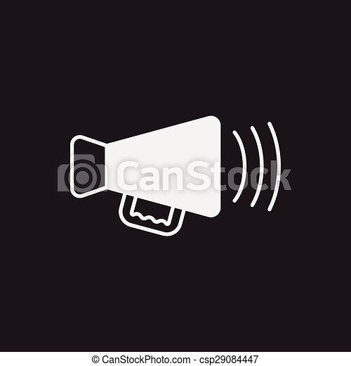 Sound equipment icon - csp29084447