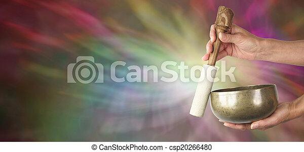 Sound Healer's website banner - csp20266480