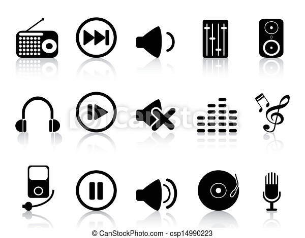 sound icons set - csp14990223
