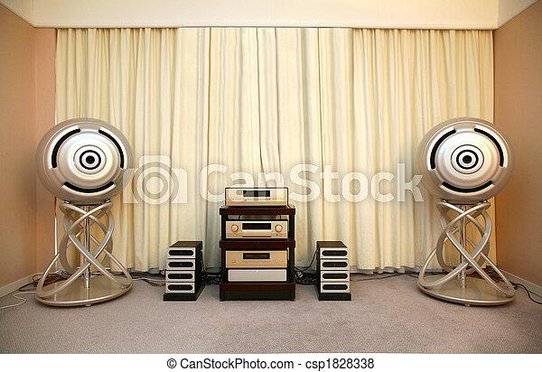 sound system - csp1828338