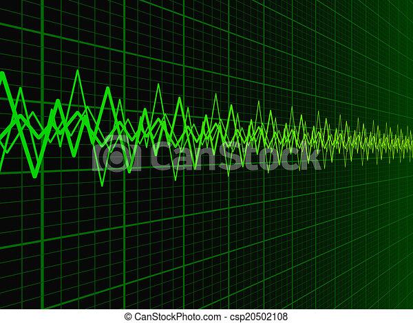 Sound Wave Background - csp20502108