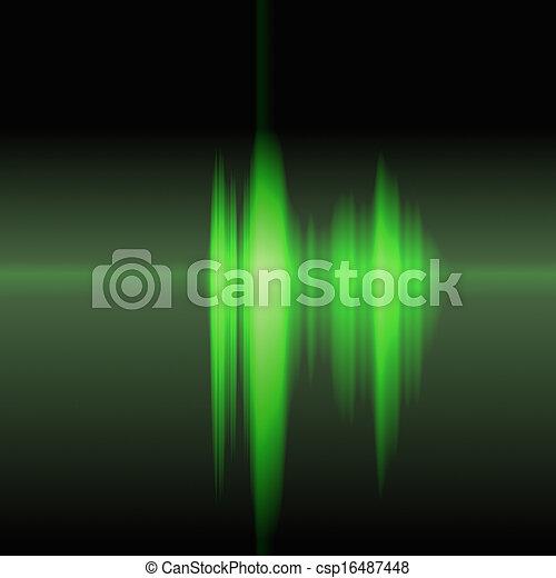 Sound wave - csp16487448