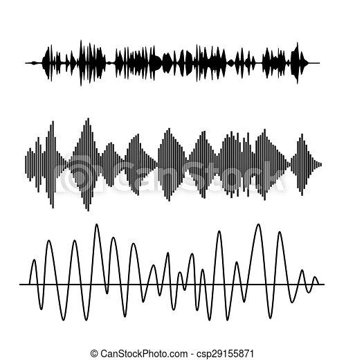 Sound waves - csp29155871