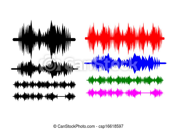 sound waves music eps vectors search clip art illustration rh canstockphoto com