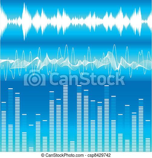 Soundwaves - csp8429742