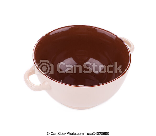 Soup bowl on background. - csp34020680