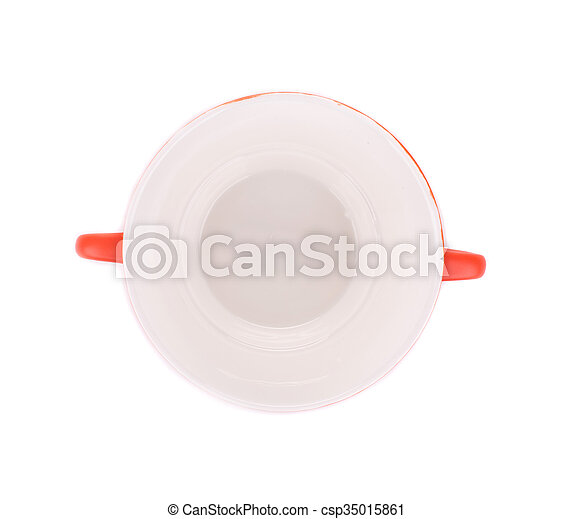 Soup bowl on background. - csp35015861