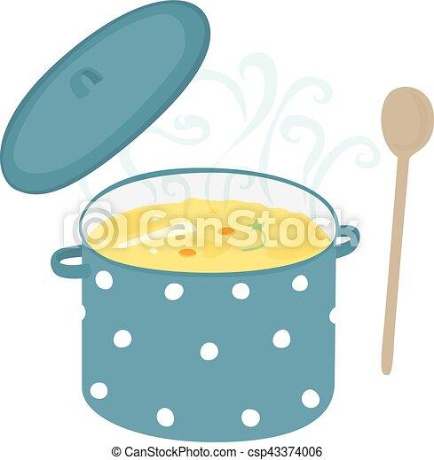 Soup pot - csp43374006