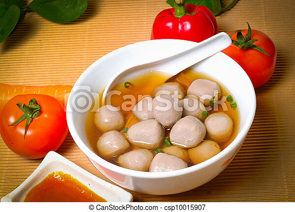 soup with meatballs - csp10015907