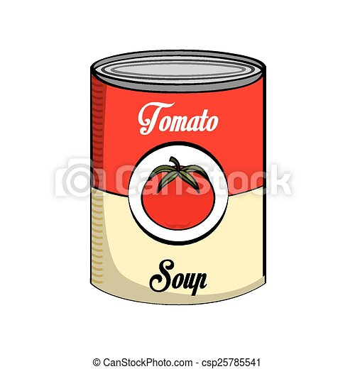 soupe tomate - csp25785541
