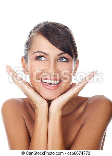 sourire, beauté - csp6674773