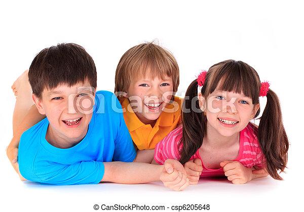 sourire, enfants - csp6205648