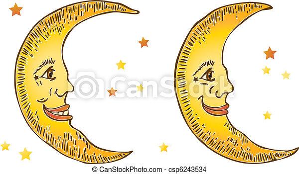 sourire, lunes - csp6243534