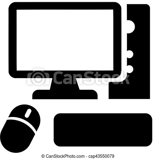 Vecteurs illustration de souris ordinateur ic ne clavier - Souris ordinateur dessin ...