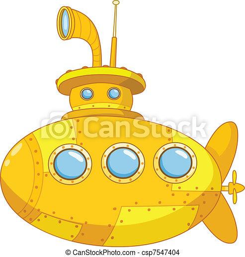 sous-marin - csp7547404