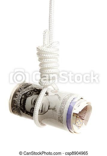 sous, sterling, pression, livre - csp8904965