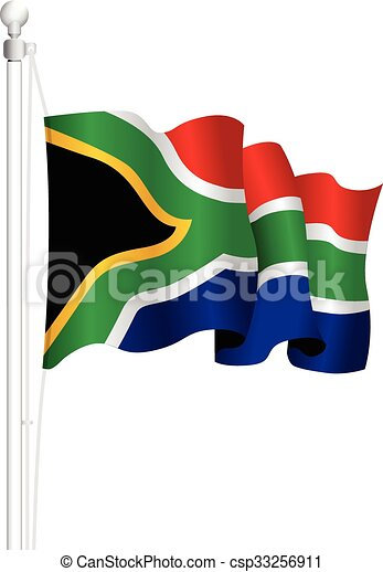 south africa national flag vector clip art search illustration rh canstockphoto com american flag memorial day clipart flag day 2015 clipart