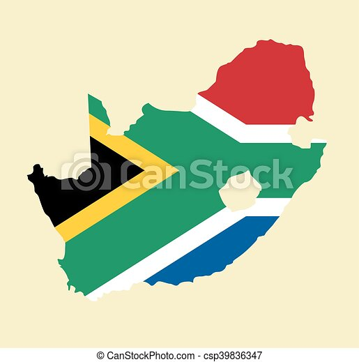 South Africa vector map - csp39836347
