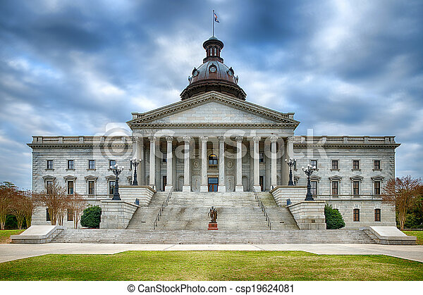 South Carolina state capitol  - csp19624081