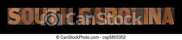 South Carolina - csp5803352