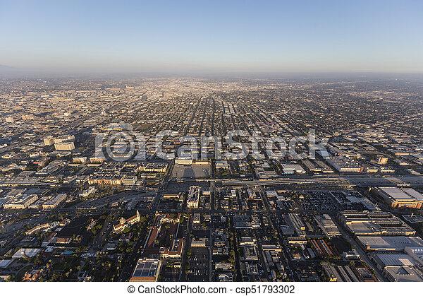 South Los Angeles Aerial - csp51793302