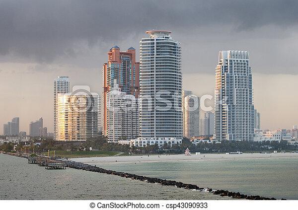 South Miami Beach - csp43090933