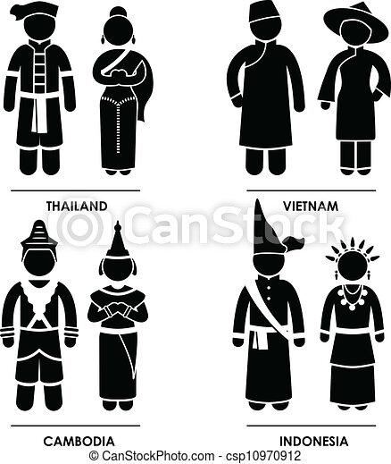 Asian clothing clip art pics 975