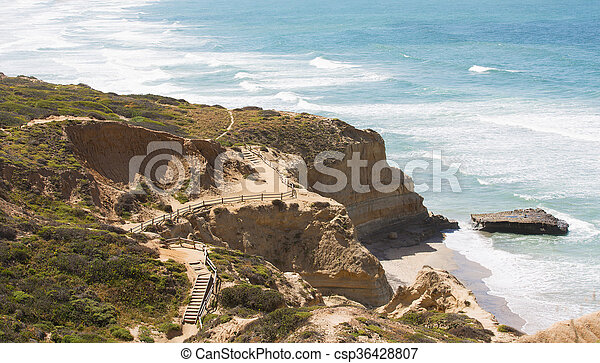 southern california coastline - csp36428807