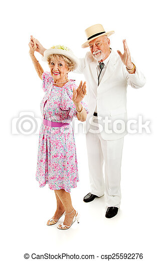 Southern Seniors Dance Together - csp25592276