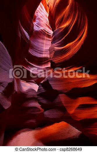 Southwest USA Slot Canyon - csp8268649