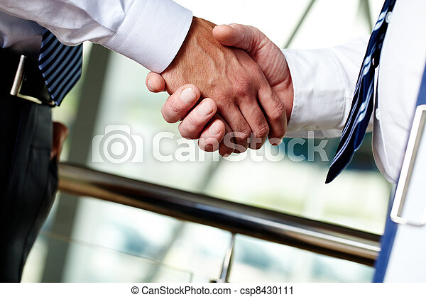 soutien, business - csp8430111