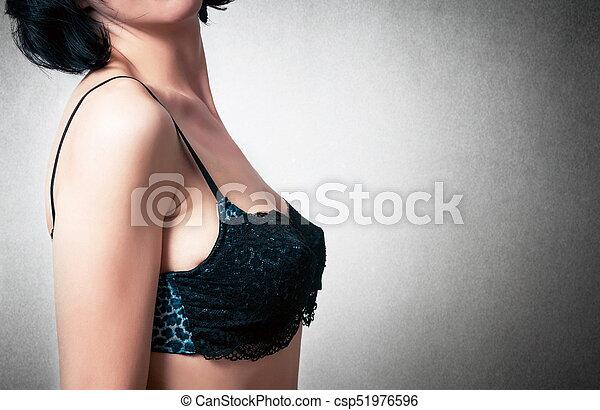 soutien, moda, mulher - csp51976596
