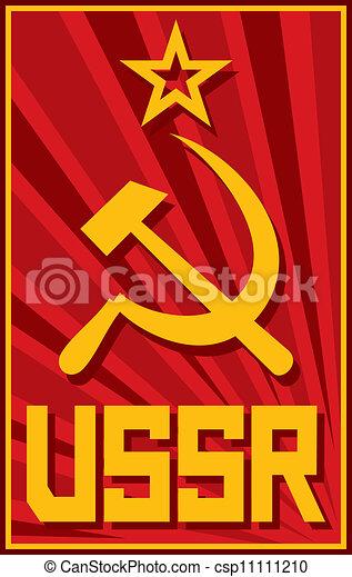 soviet poster (ussr) - csp11111210