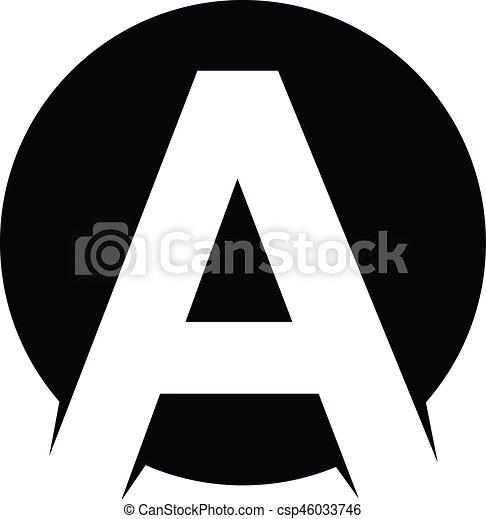 sovrapposto, iniziale, logotype, tema, lettera, logotipo - csp46033746