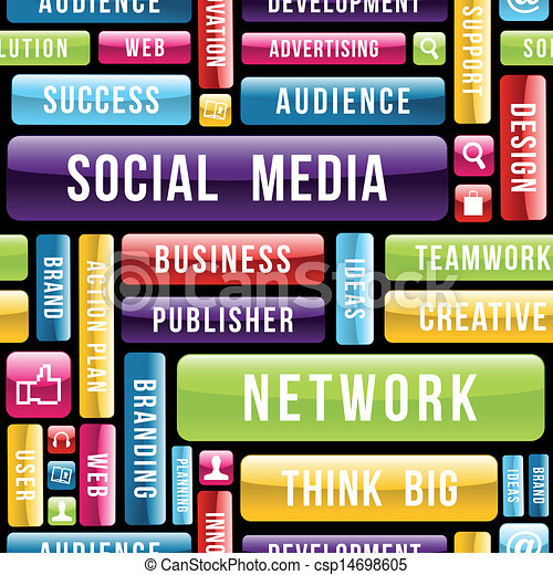 Soziales Medienkonzept - csp14698605