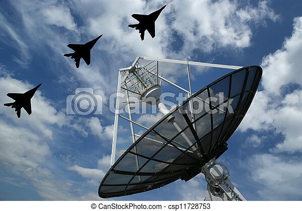 spårande, rysk, kastvapen, planlagt, automatisk, mål, nymodig, radar - csp11728753