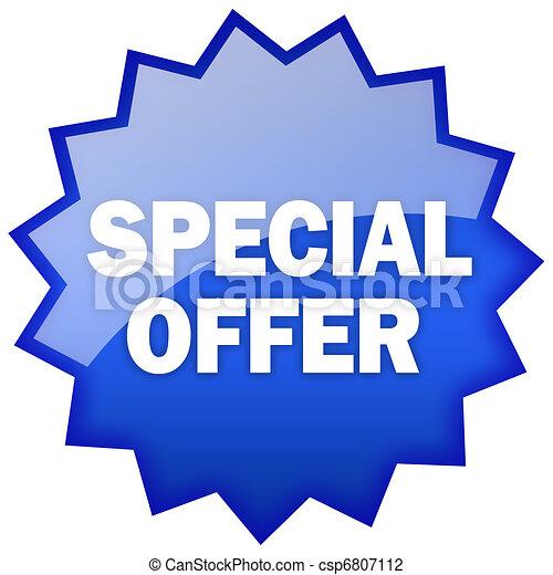 spécial, offre - csp6807112