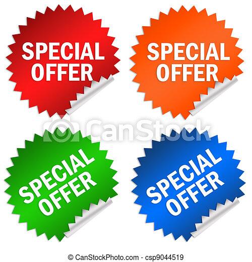 spécial, offre - csp9044519