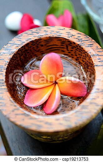 Spa and aromatherapy concept - csp19213753