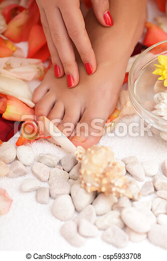 Spa and wellness - csp5933708