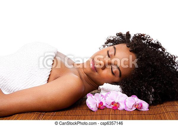 spa, beleza, relaxamento - csp6357146