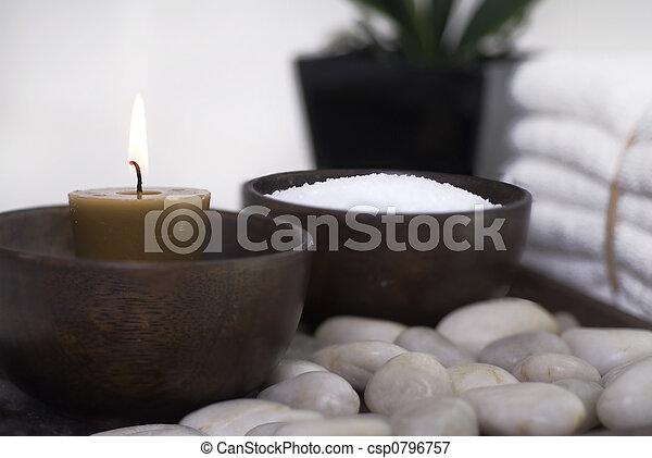 spa, camée, wellness - csp0796757