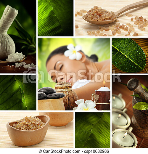 spa collage - csp10632986