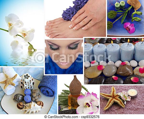 Spa Collage - csp9332576